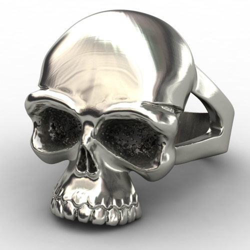 EVBEA Newest Skull Stainless Steel Skull Ring for Man Personality Biker Jewelry Wholesale Factory Price for 2017