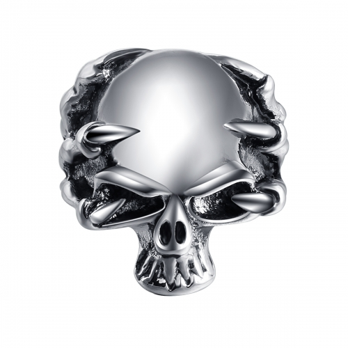 Hip Hop Bijoux Wholesale Men Jewelry Punk Dragon Claw Biker Rings Skull Couple Jewelry Accessories