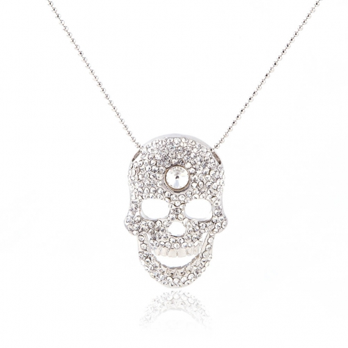 Outstanding Skull Pendant Necklaces Punk Skull Head Choker Fashion Jewelry Accessories for  Women